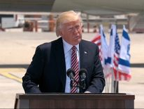 President Trump during his visit to Israel