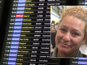 Melanie Ware has been caught in the BA disruption at the start of her honeymoon