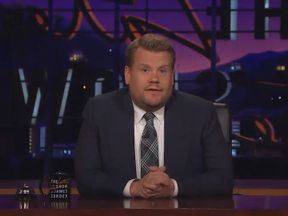 James Corden pays tribute to the people of Manchester
