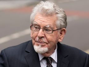 Rolf Harris had been on trial over four counts of indecent assault