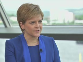 Nicola Sturgeon on Sophy Ridge on Sunday