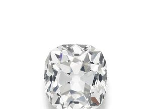 The white diamond has been described as an 'amazing find'