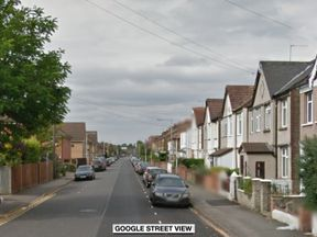 The stabbing happened in Waterloo Road, Uxbridge