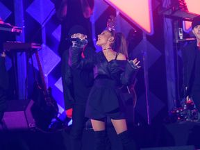Ariana Grande performing last year