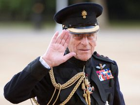 Britain's Prince Philip in 2011