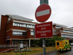 St George's Hospital, south-west London, is one of the country's 27 major trauma centres