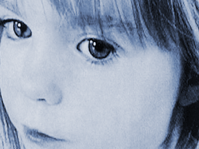 Madeleine McCann missing ten years.
