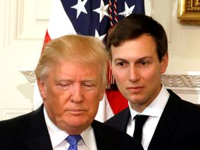 Jared Kushner is not only family, he's also the US President's senior aid