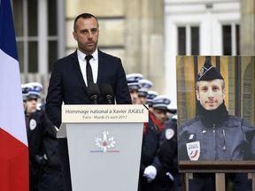 Etienne Cardiles, Mr Jugele's partner, paid tribute last month
