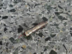 Pictures published in US media show a possible detonator switch