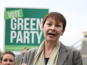 Party co-leader Caroline Lucas