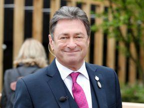 Television gardener Alan Titchmarsh