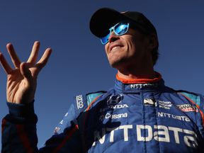 Scott Dixon is in pole position for the Indy 500. He's pictured here at a race in April in Arizona