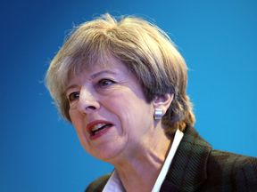 Mrs May said civil servants 'need to look at what should be done'