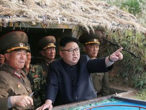 Kim Jong Un inspects military facilities on Jangjae Islet in North Korea