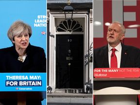 May v Corbyn Live: The Battle For Number 10 is a joint Sky News and Channel 4 programme