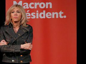 Brigitte Trogneux, wife of Emmanuel Macron