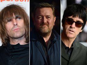 Liam Gallagher, Guy Garvey and Johnny Marr