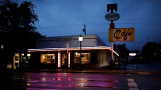 "Twede's Cafe, the location of the Double R Diner in the ""Twin Peaks"" television series, is seen in North Bend, Washington"