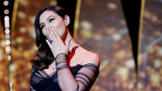 Mistress of Ceremony actress Monica Bellucci on stage