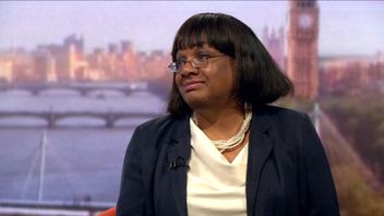 Diane Abbott is interviewed on the BBC's Andrew Marr show