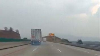 Driver controls lorry into crash when brakes fail