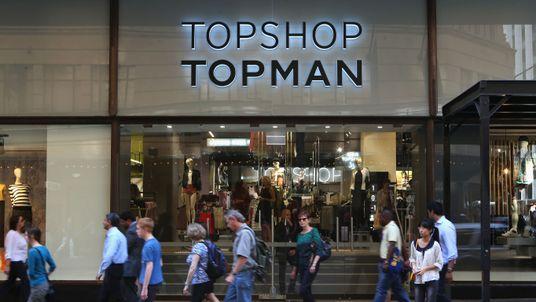 A Topshop store in Sydney Australia