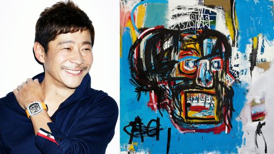Yusaku Maezawa  bought Untitled for $110,487,500. Pic: Sotheby's
