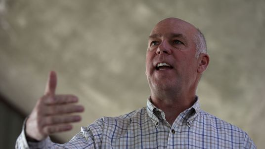 Greg Gianforte's wealth is estimated at between $65m and $315m
