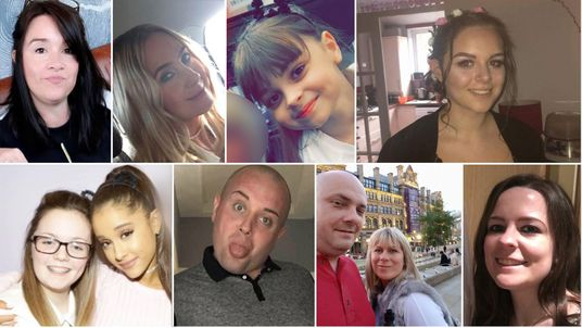 Some of those killed in the Manchester terror attack
