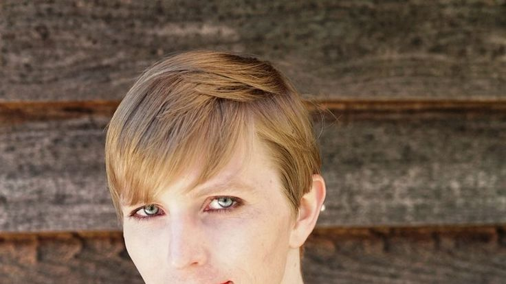 Chelsea Manning's first photo after she was released from prison. Pic: Twitter