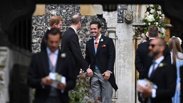 Former Made In Chelsea regular and reality television personality Spencer Matthews chats to Princes William and Harry