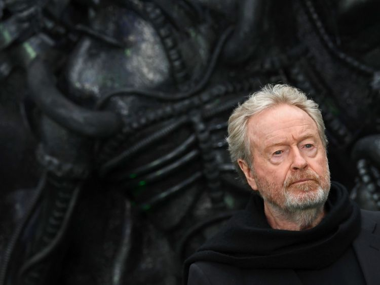 Ridley Scott Talks More About Neill Blomkamp's Cancelled Alien Movie