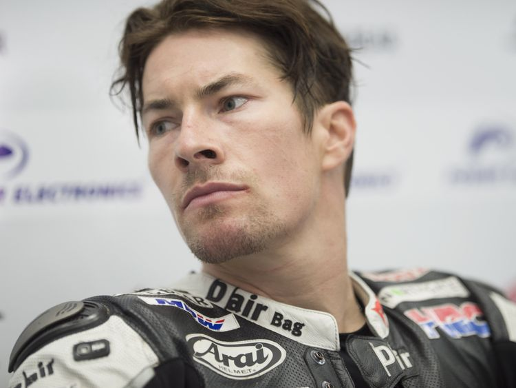 Nicky Hayden in 2015
