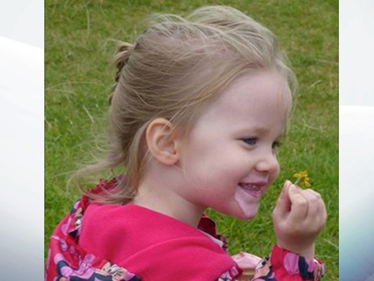 Violet-Grace's mother said she has saved two lives through organ donation