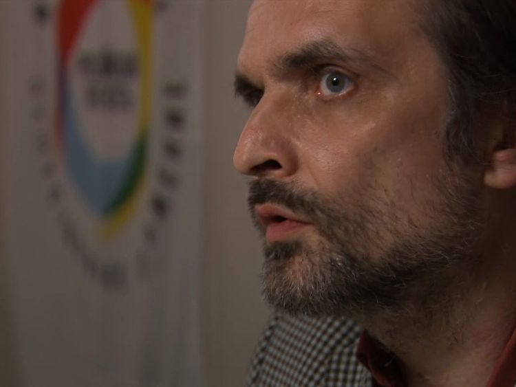 Igor Kochetkov leads a small group of LGBT activists in Russia trying to help those who fear for their lives and have to leave