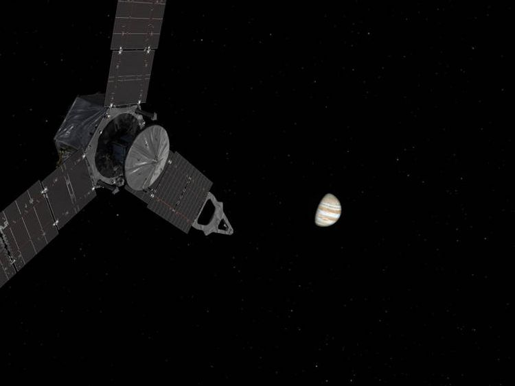 Juno launched in 2011.  Pic NASA