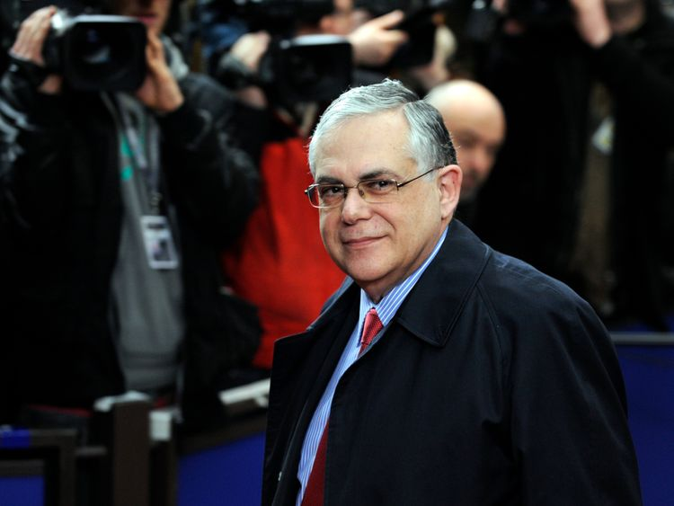Lucas Papademos served as Greece's prime minister between November 2011 and May 2012.