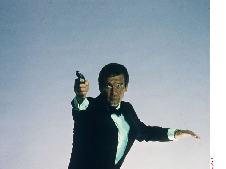 'Nobody does it better': 007's tribute to Moore