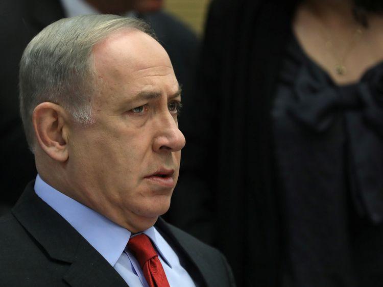 Benjamin Netanyahu. File pic