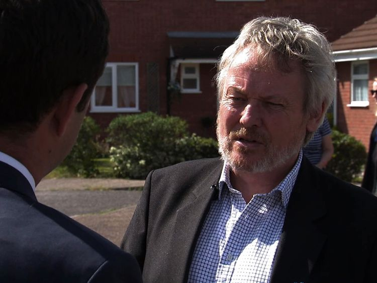 Giles Watling, the former actor and Conservative Party candidate