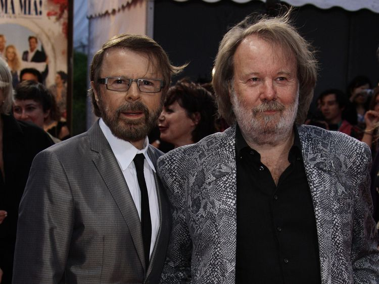 Bjorn Ulvaeus and Benny Anderson wrote Abba's songs