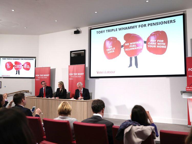 Labour unveils a latest conflict print opposite a Conservatives
