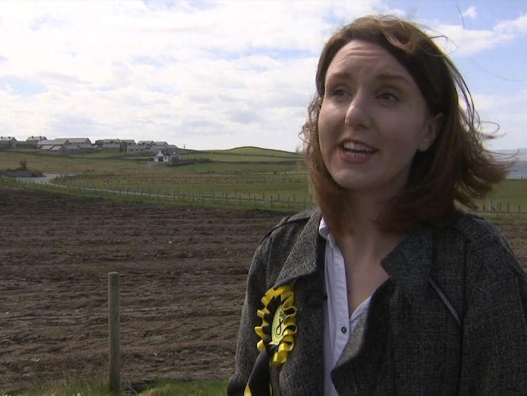 Miriam Brett grew up on the Shetland island of Bressay