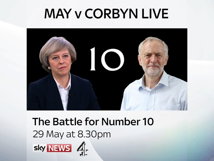 May, Corbyn Grilled By Paxman And Studio Audience
