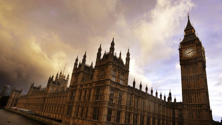 File photo of the Houses of Parliament