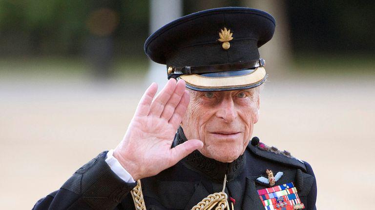 Britain's Prince Philip in 2011