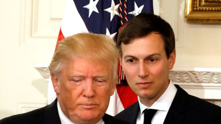 Jared Kushner is not only family, he's also the US President's senior aid