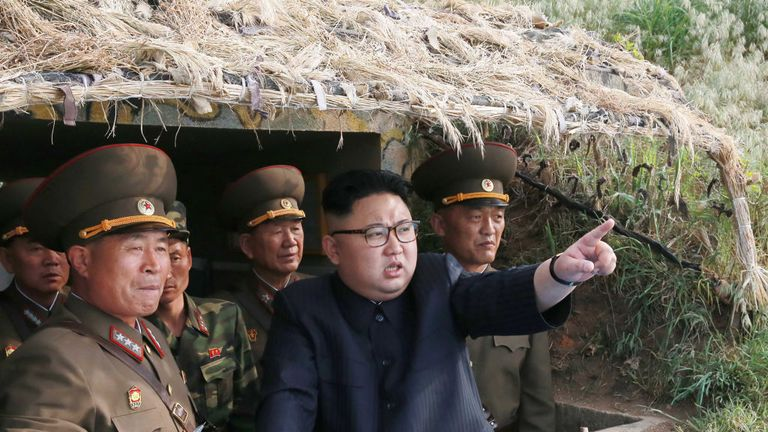 Kim Jong Un inspects military facilities on Jangjae Islet in North Korea