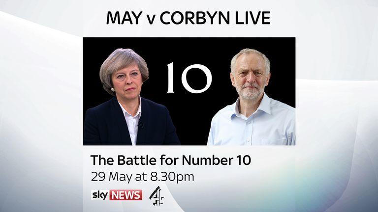 May v Corbyn Live